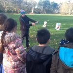 Generating digit with archery