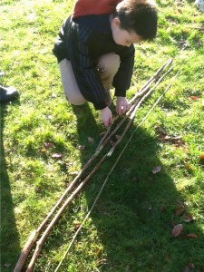 Looking at relationships between lengths is sticks