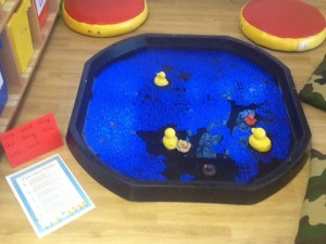 Five little Ducks went swimming one day...