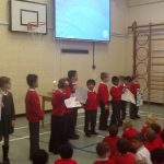Year 3 told us about  some of the features of a Synagogue